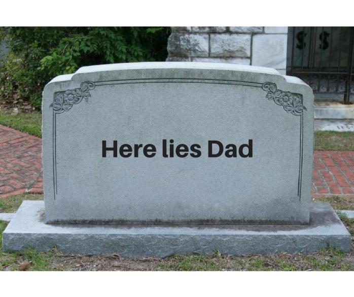 Here liesDad